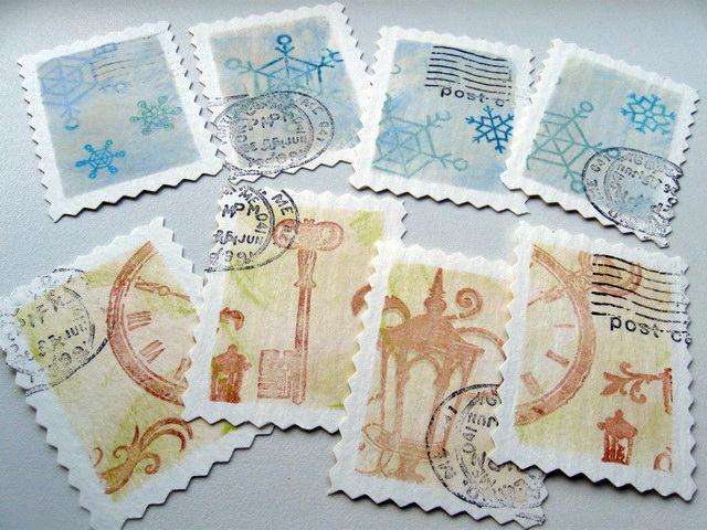 МК, почтовые марки от Юлии..