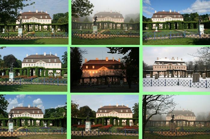 Парк и замок Браниц 20831