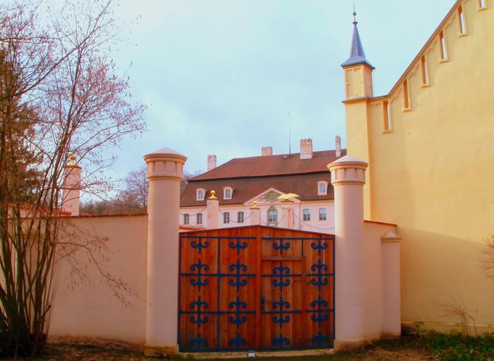 Парк и замок Браниц 57788