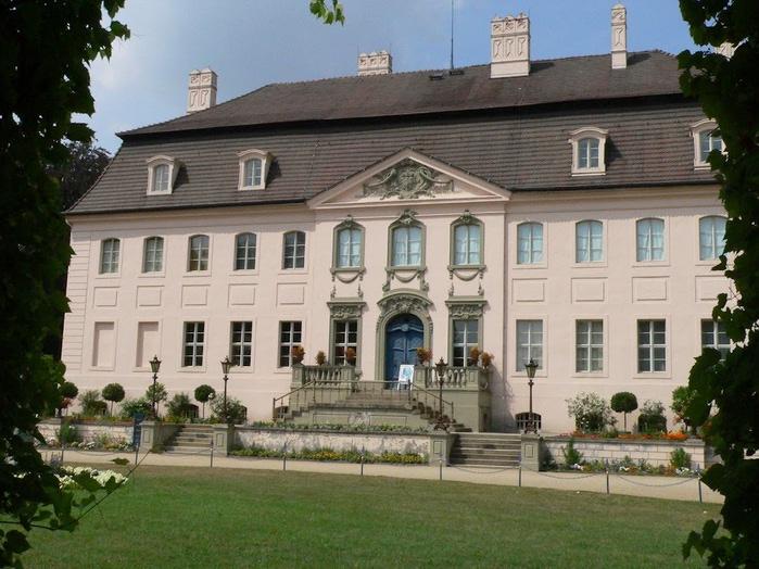 Парк и замок Браниц 26734