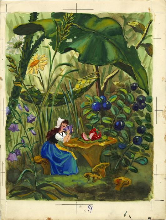 Дюймовочка. иллюстрация 8 (530x700, 124Kb)