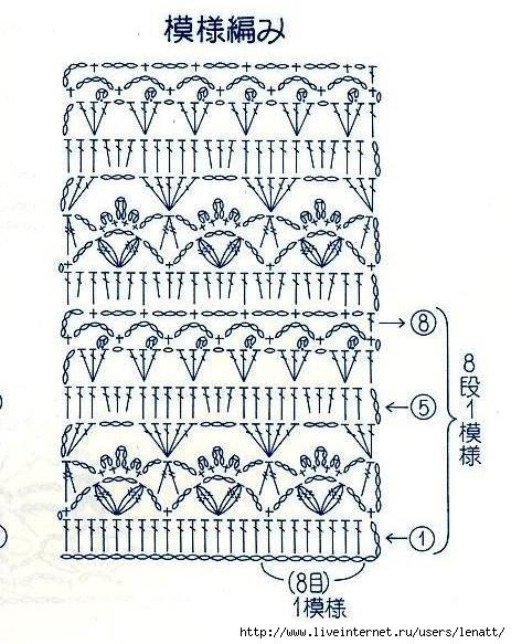 Кофта с рукавами три четверти