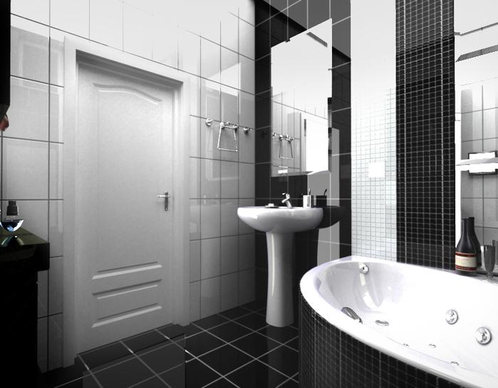 Ванна дизайн пол