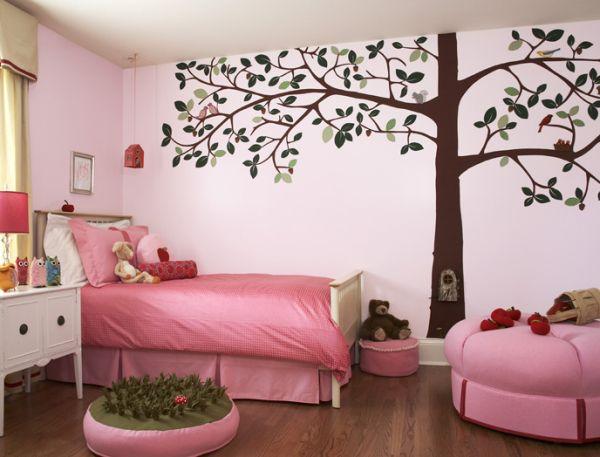 Teenage girl bedroom wall paint