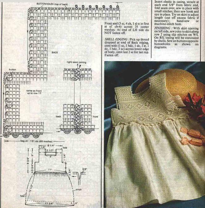 Комбинирование ткани и вязания спицами схемы 43