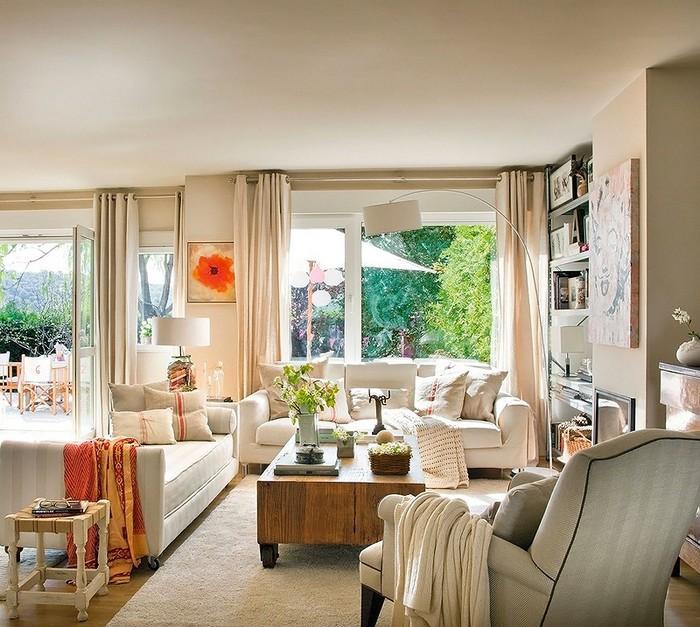 Стиль шебби шик в интерьере одной испанской квартиры 3 (700x627, 133Kb)