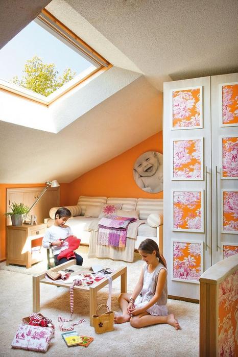 Стиль шебби шик в интерьере одной испанской квартиры 13 (466x700, 394Kb)
