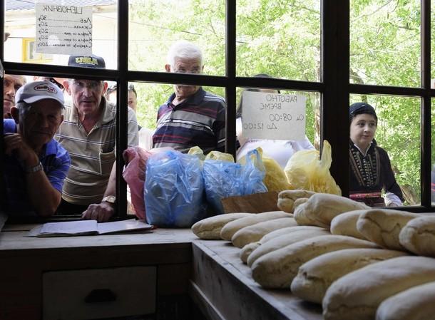 Петров день (Petrovden) в западной македонской деревне Галичик, 14 июля 2012 года