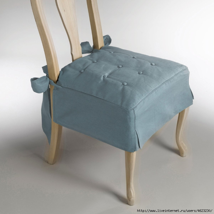 Подушка на стул без машинки
