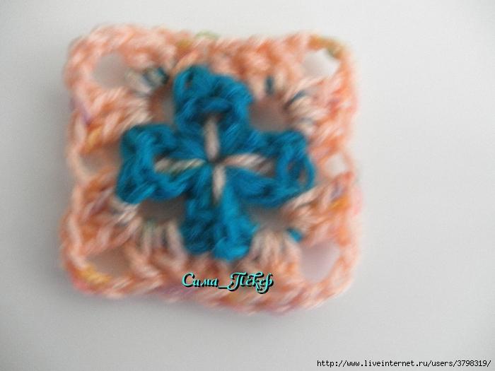 钩针教程:一个有趣的方形 (我的大师班) - maomao - 我随心动