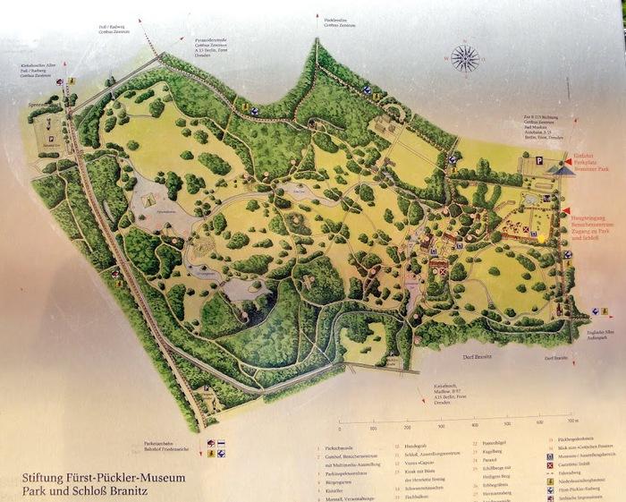 Парк и замок Браниц 83320