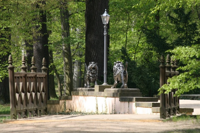 Парк и замок Браниц 52372