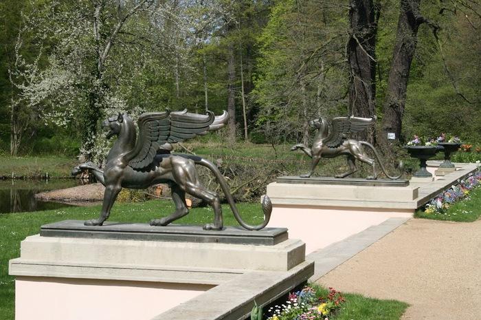 Парк и замок Браниц 45837