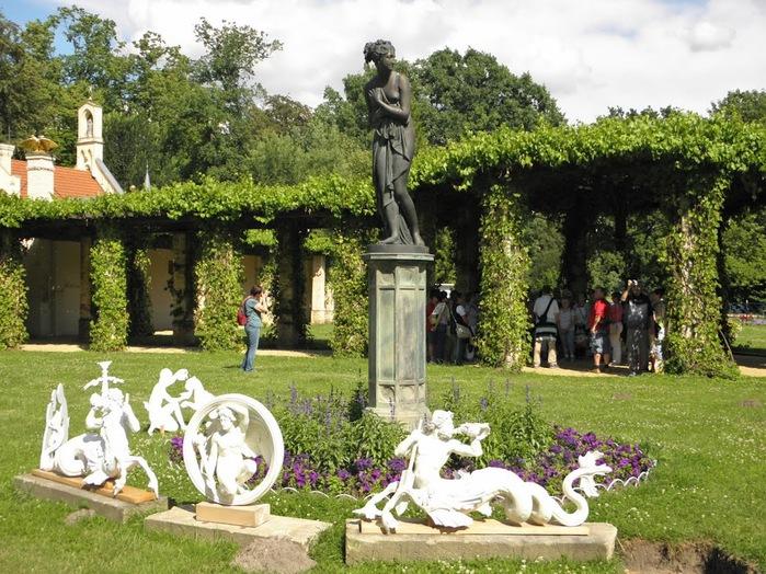 Парк и замок Браниц 25113