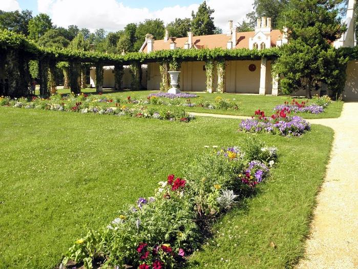 Парк и замок Браниц 76479