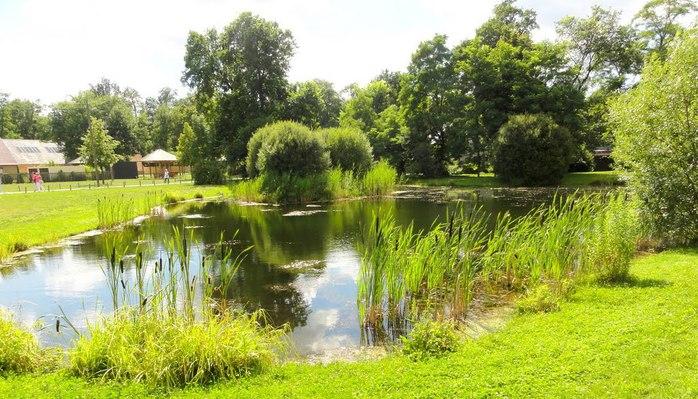Парк и замок Браниц 62951