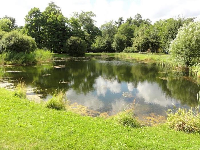 Парк и замок Браниц 60852