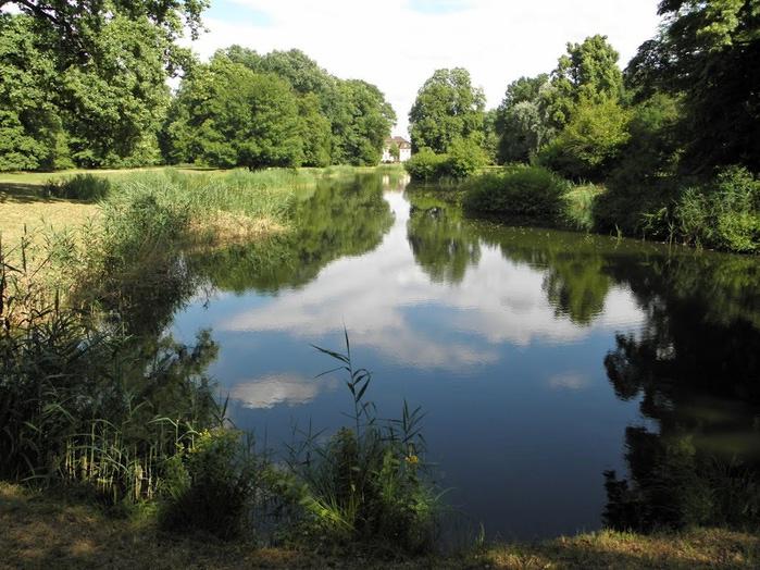 Парк и замок Браниц 75519