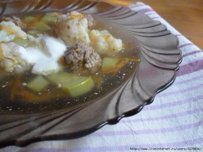 суп с фрикадельками и яйцом рецепт с фото