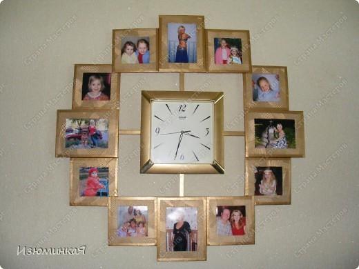 Часы из фото на стену своими руками 205