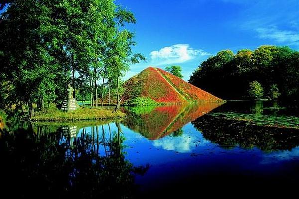 Парк и замок Браниц 34056
