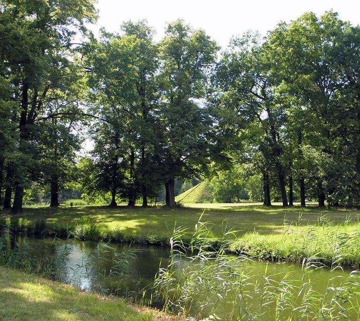 Парк и замок Браниц 87624