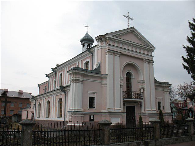 Костел Св. Варвари. Тут вінчався Оноре де Бальзак. Бердичів. Житомирська область (640x480, 44Kb)