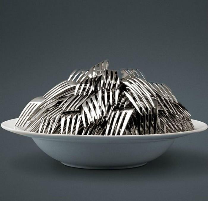 Креативная посуда фотографа Jean-Francois De Witte 14 (700x676, 82Kb)