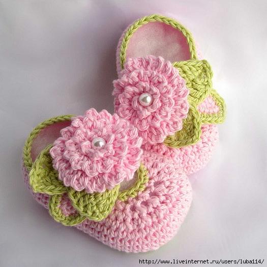 Baby-Bootie-Crochet-Pattern (525x525, 174Kb)