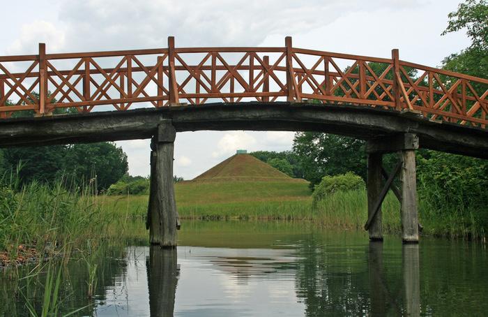 Парк и замок Браниц 20560