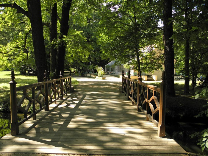Парк и замок Браниц 89223