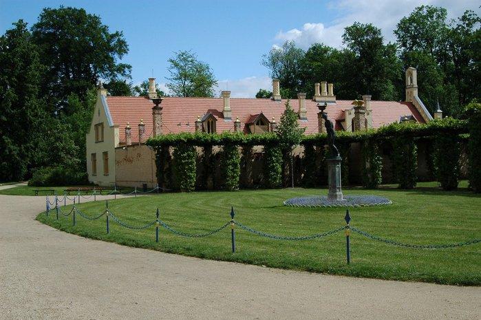 Парк и замок Браниц 24737