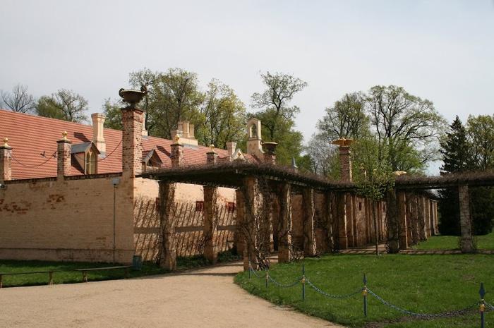 Парк и замок Браниц 78134