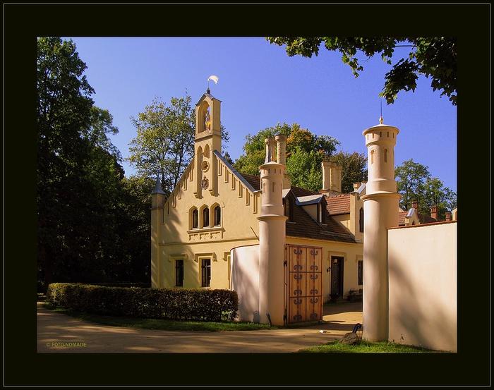 Парк и замок Браниц 45267