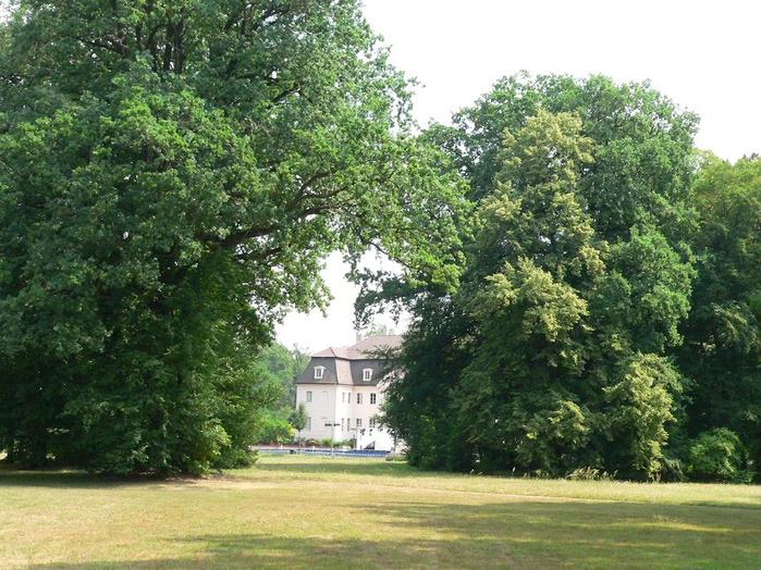 Парк и замок Браниц 24825