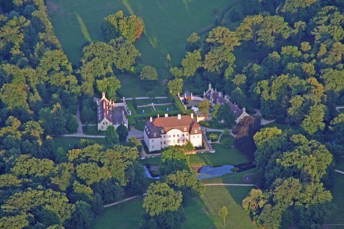 Парк и замок Браниц 21423