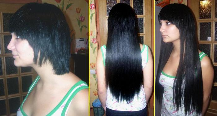 Как крепить накладные волосы при короткой стрижке
