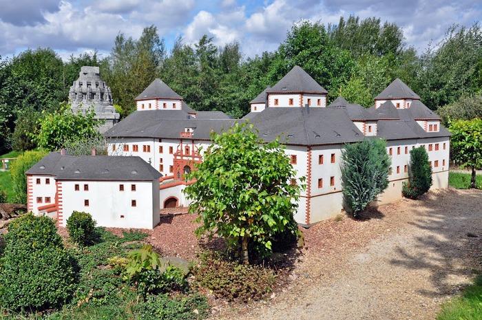 Парк миниатюр в Германии - Miniwelt Lichtenstein, Sachsen. 26466