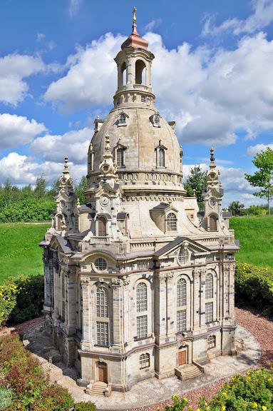 Парк миниатюр в Германии - Miniwelt Lichtenstein, Sachsen. 11142
