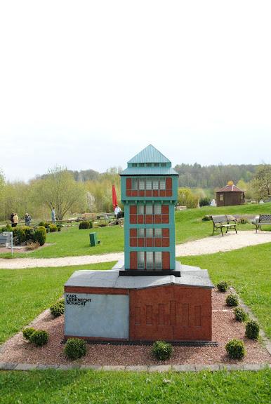 Парк миниатюр в Германии - Miniwelt Lichtenstein, Sachsen. 22173