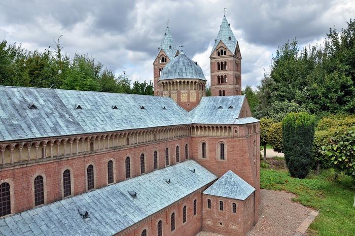 Парк миниатюр в Германии - Miniwelt Lichtenstein, Sachsen. 51633