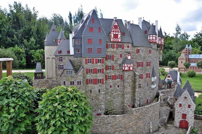 Парк миниатюр в Германии - Miniwelt Lichtenstein, Sachsen. 24691