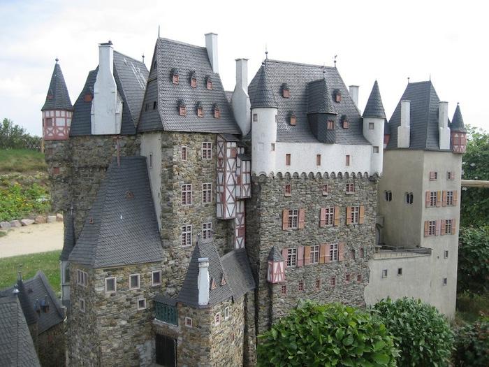 Парк миниатюр в Германии - Miniwelt Lichtenstein, Sachsen. 44690