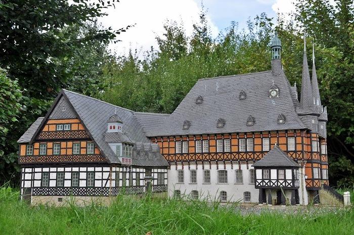 Парк миниатюр в Германии - Miniwelt Lichtenstein, Sachsen. 59217