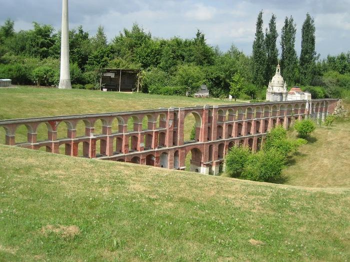 Парк миниатюр в Германии - Miniwelt Lichtenstein, Sachsen. 47656