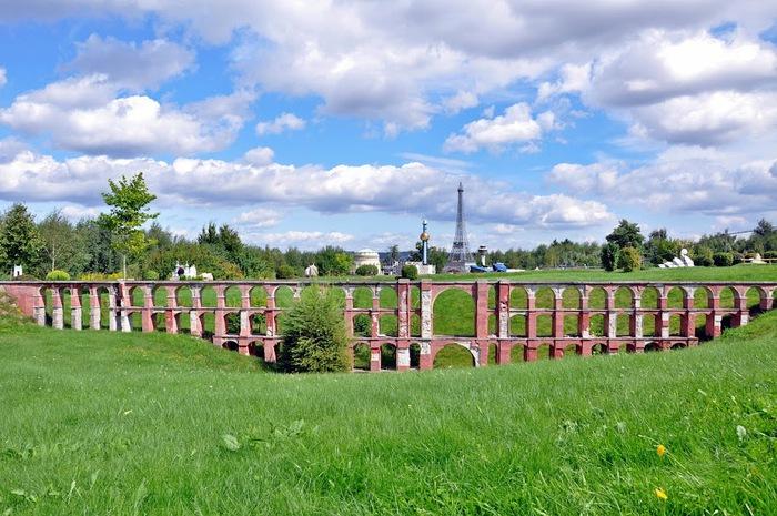 Парк миниатюр в Германии - Miniwelt Lichtenstein, Sachsen. 80325