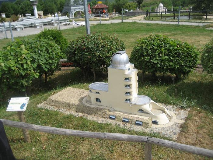 Парк миниатюр в Германии - Miniwelt Lichtenstein, Sachsen. 22028