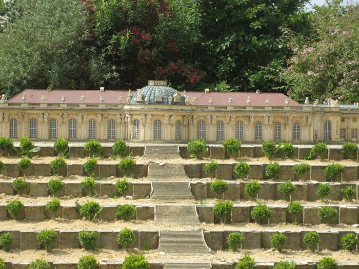 Парк миниатюр в Германии - Miniwelt Lichtenstein, Sachsen. 53159