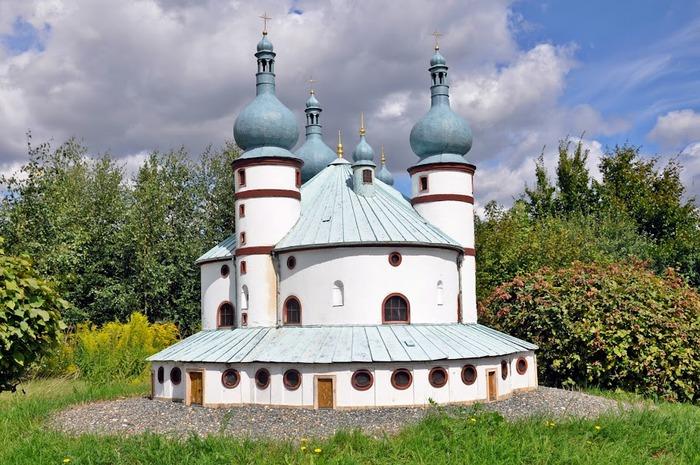 Парк миниатюр в Германии - Miniwelt Lichtenstein, Sachsen. 70733