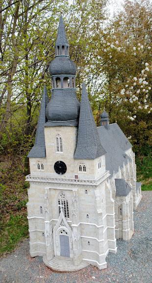 Парк миниатюр в Германии - Miniwelt Lichtenstein, Sachsen. 41016